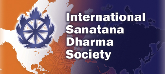 International Sanatana Dharma Society Banner